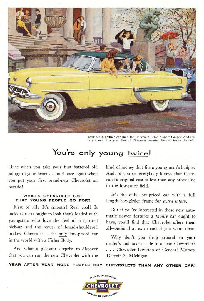 1954 Chevrolet Bel Air   My Classic Garage