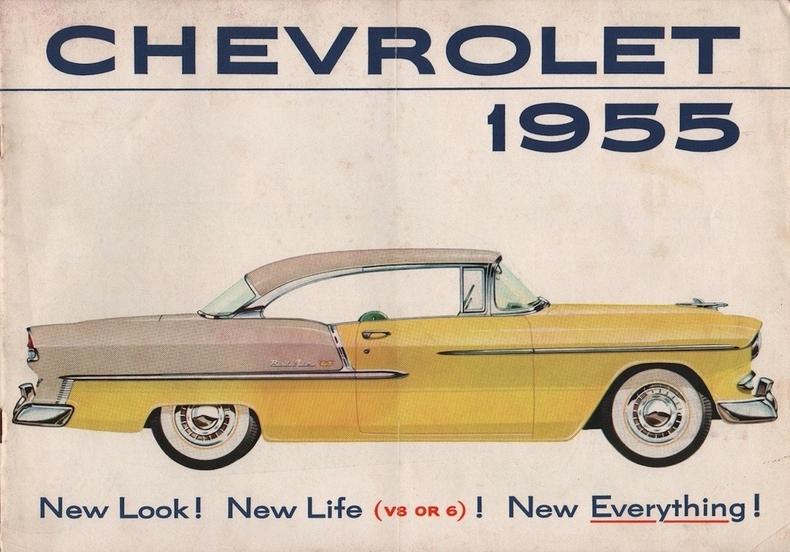 1955 Chevrolet Bel Air My Classic Garage
