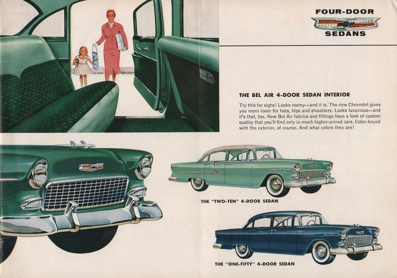 Specs for the 55 Chevy – 55chevybelair