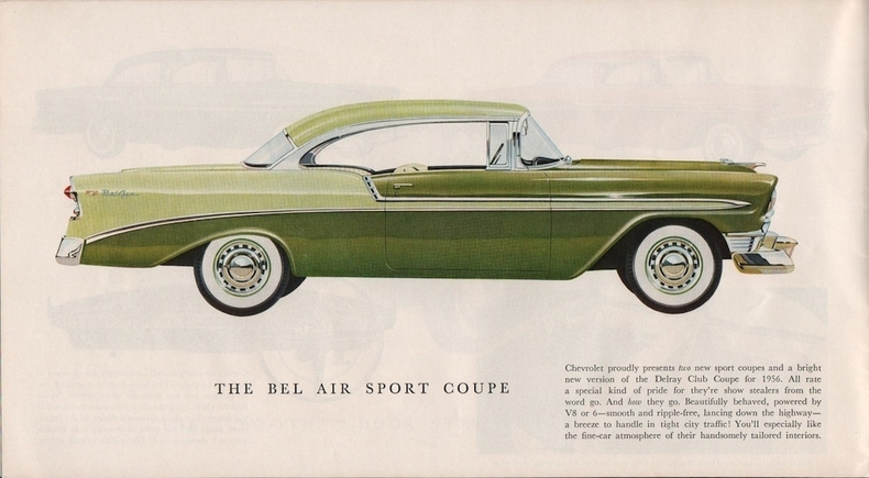 1956 Chevrolet Bel Air My Classic Garage