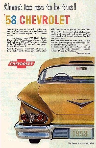 1958 Chevrolet Bel Air   My Classic Garage