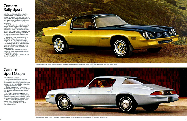 1979 Camaro Specs Colors Facts History and Performance