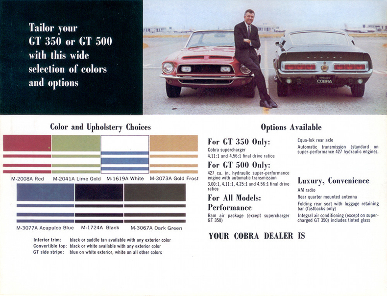 1968 Mustang Specs Colors Facts History And