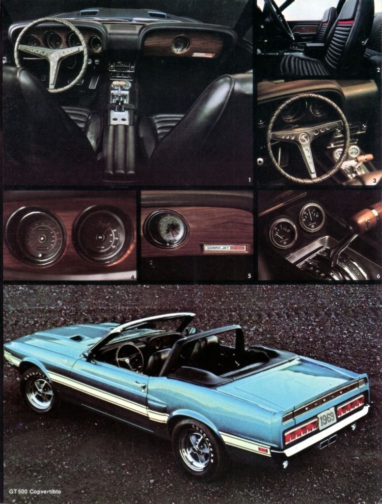 1969 Shelby Mustang My Classic Garage