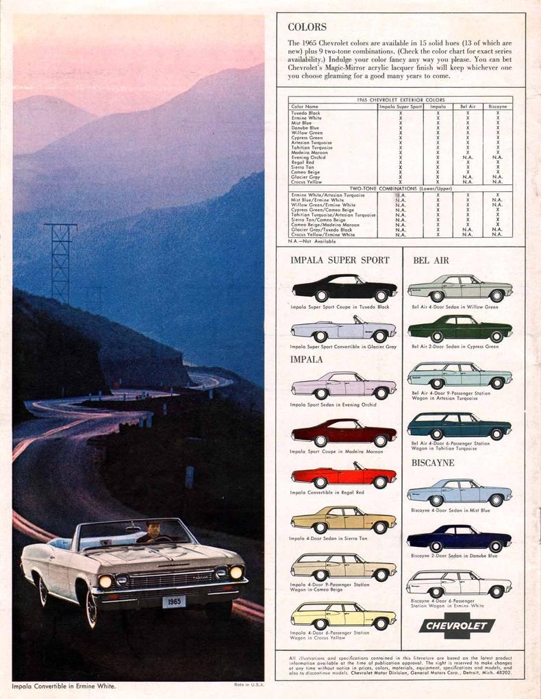 Manufacturer original sales brochures