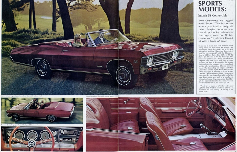 1967 Impala Specs Colors Facts History and Performance