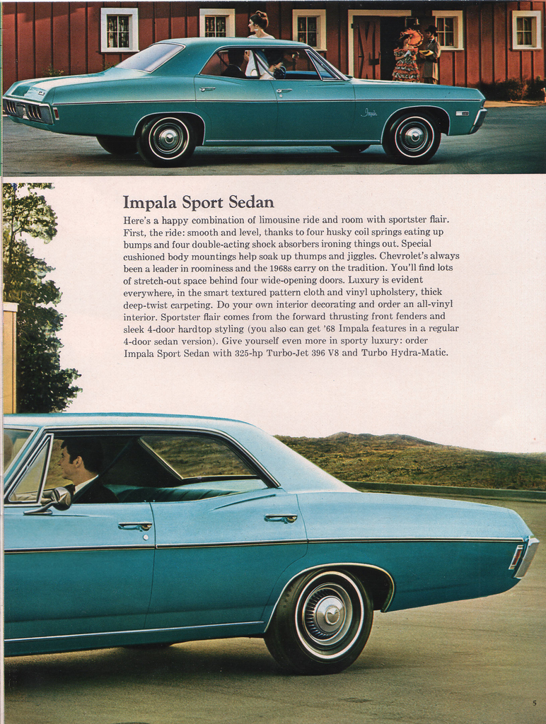 1968 Impala Specs Colors Facts History and Performance