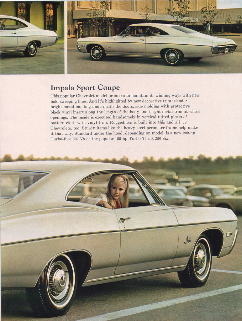 Bill Kay Chevrolet >> 1968 Impala Specs, Colors, Facts, History, and Performance ...