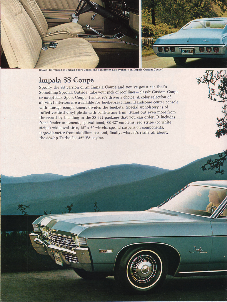 1968 Chevrolet Impala My Classic Garage 55 Chevy Color Chart