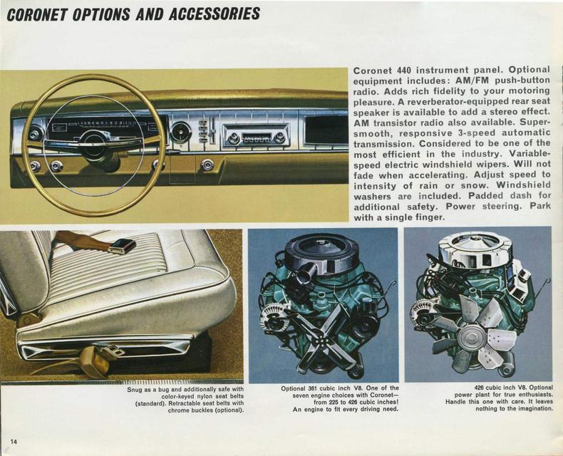 1965 Dodge Coronet My Classic Garage