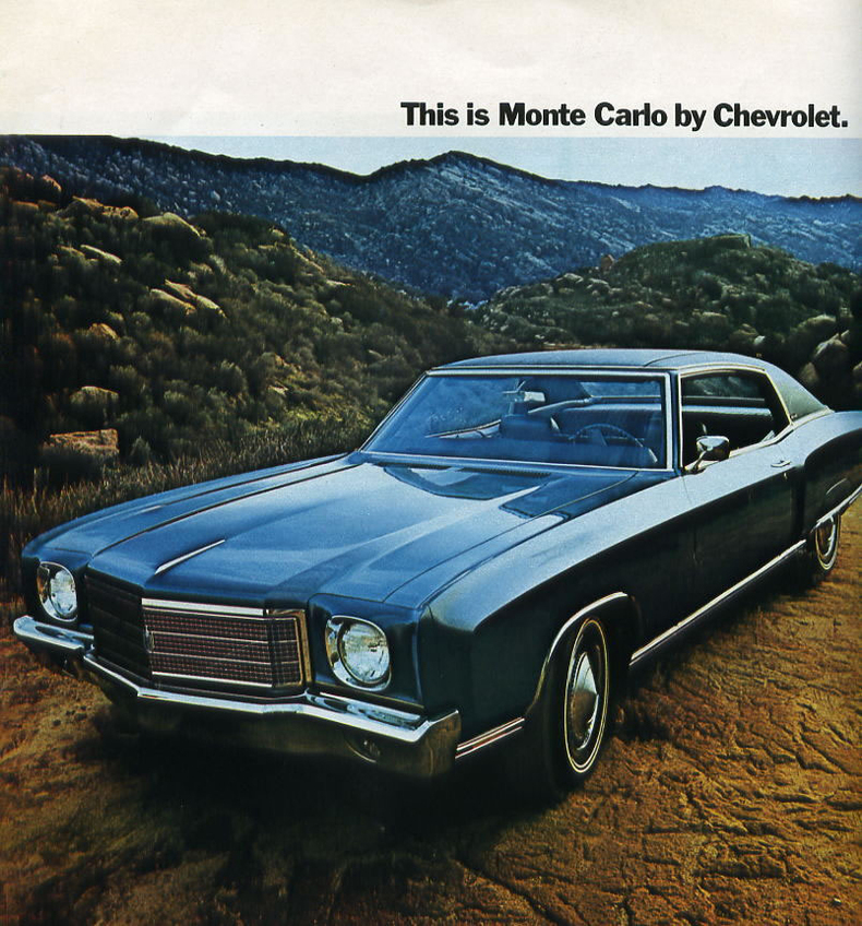 1970 chevrolet monte carlo my classic garage. Black Bedroom Furniture Sets. Home Design Ideas