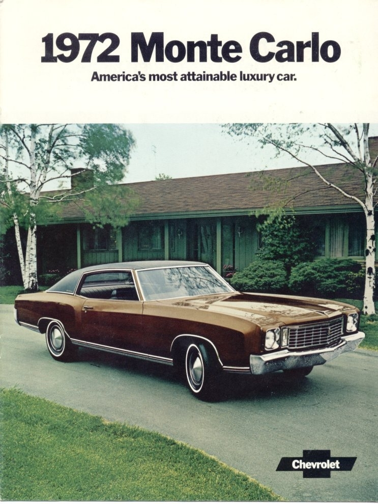 1972 chevrolet monte carlo my classic garage. Black Bedroom Furniture Sets. Home Design Ideas