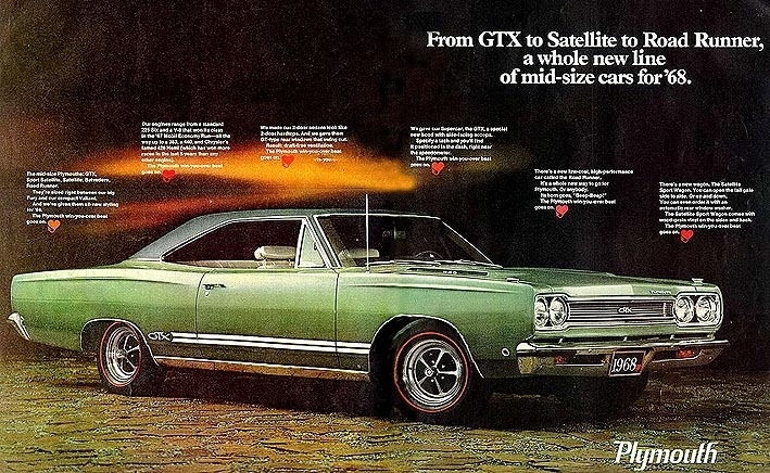 1968 Gtx Specs  Colors  Facts  History  And Performance