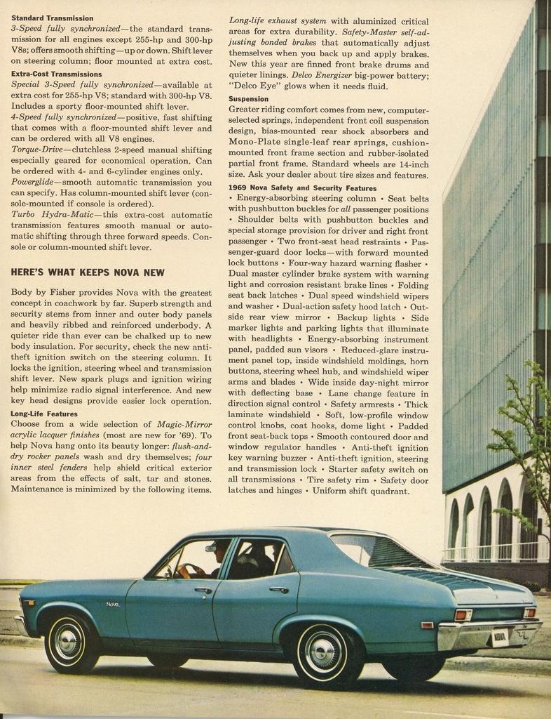 1969 Chevrolet Nova   My Classic Garage
