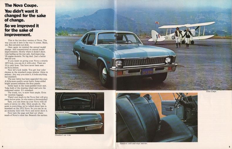 1972 Chevrolet Nova My Classic Garage