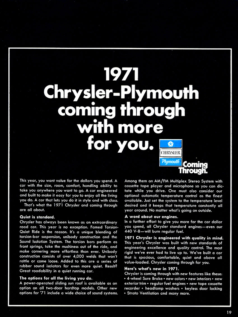 1763 1971 chrysler plymouth brochure 19 low res