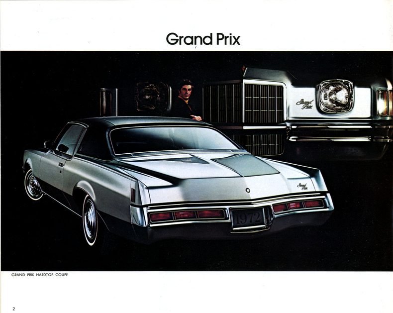 1972 Grand Prix Specs Colors Facts History And