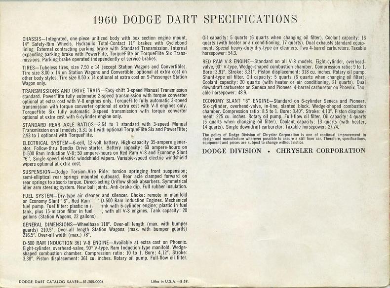 1948 1960 dodge dart brochure 05 low res