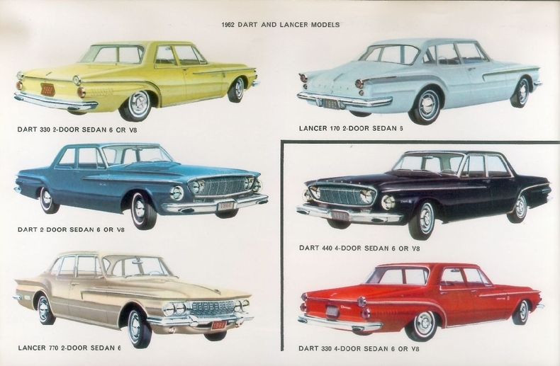 1962 Dart Specs Colors Facts History and Performance  Classic