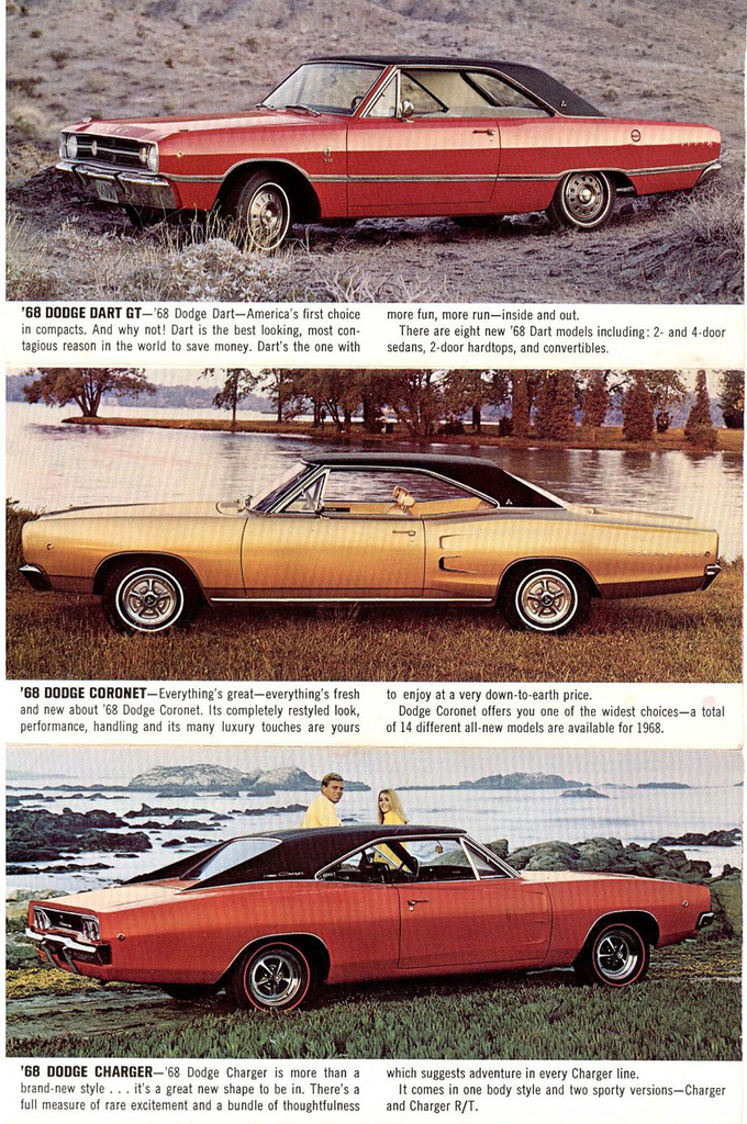 1968 Dart Specs Colors Facts History and Performance  Classic