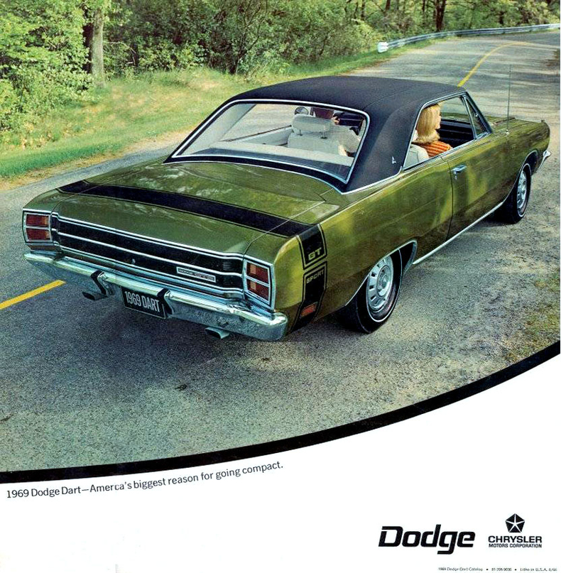 1969 Dart Specs Colors Facts History and Performance – Dodge Dart Engine Diagram