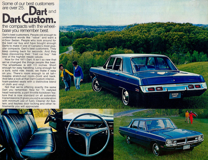 1971 Dodge Dart My Classic Garage