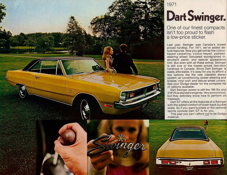 Don Brown Chevrolet >> 1971 Dodge Dart | My Classic Garage