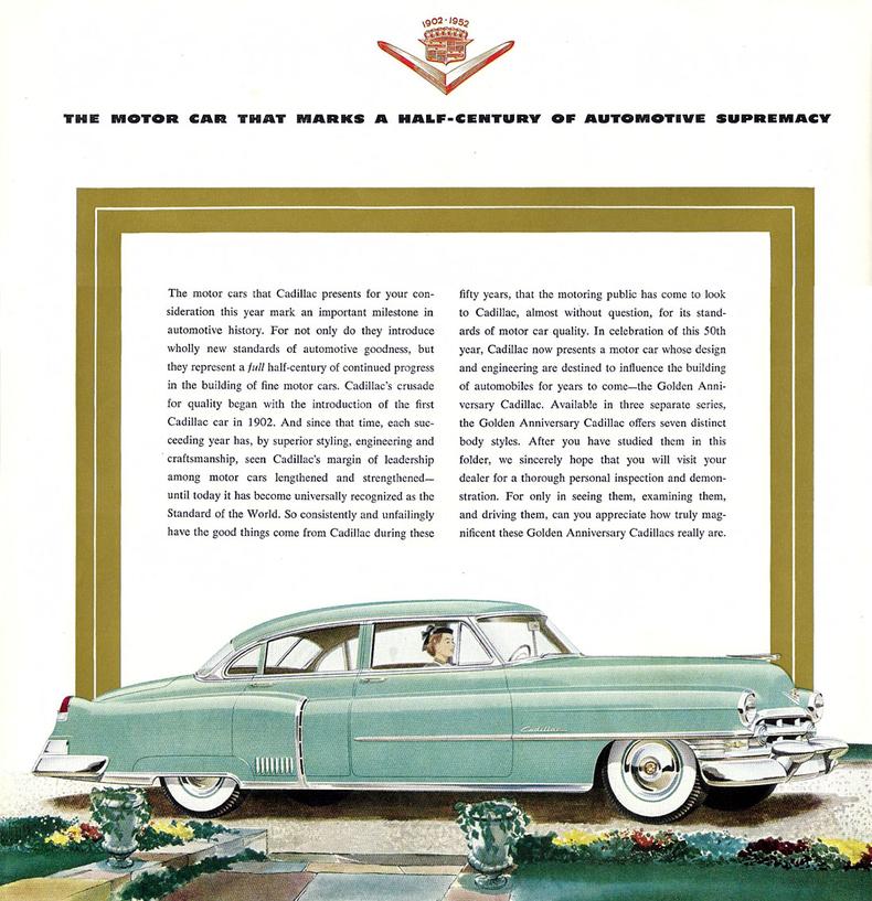 1952 Cadillac Deville My Classic Garage