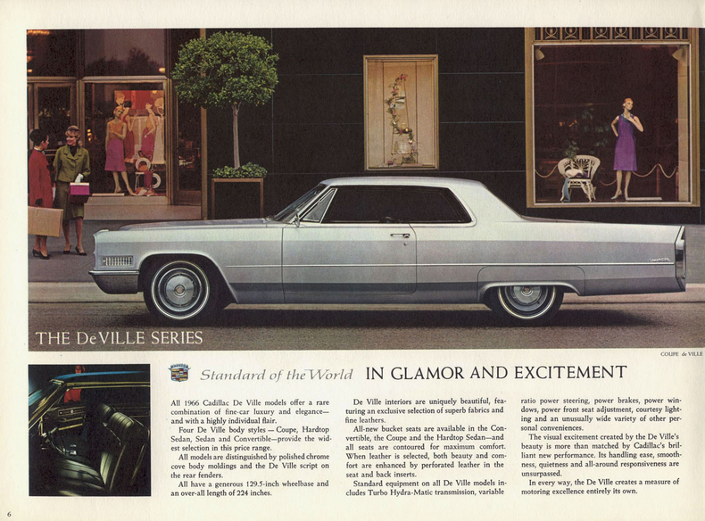 1966 Cadillac Deville My Classic Garage