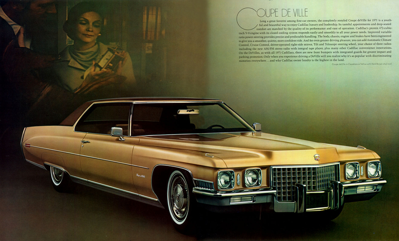 1971 Cadillac Deville My Classic Garage