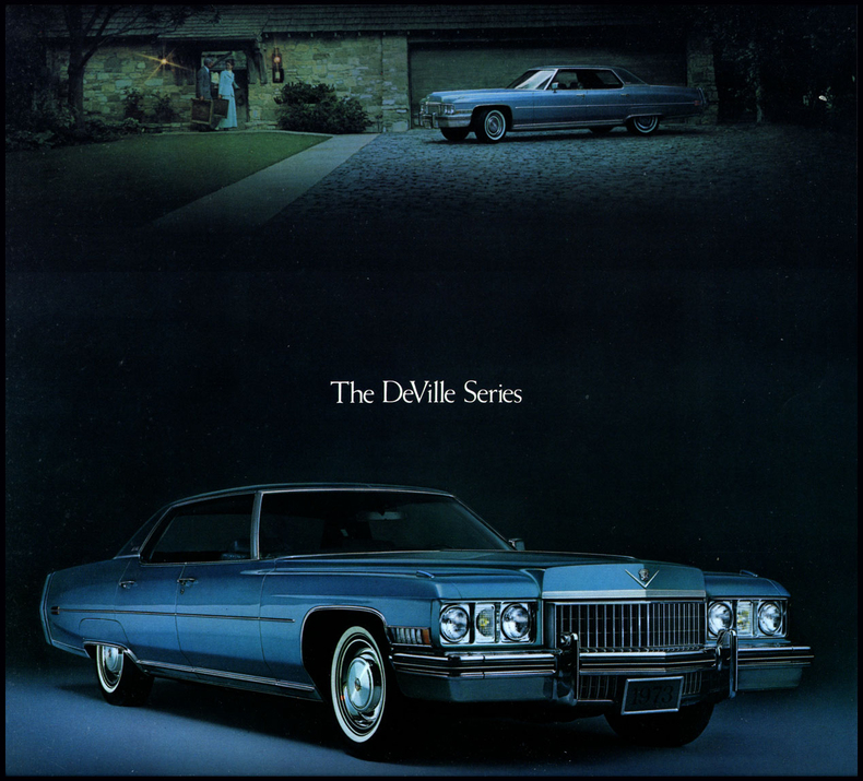 1973 Cadillac Deville My Classic Garage