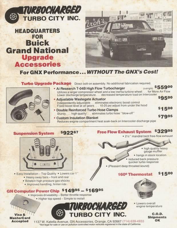 1982 - 1987 Buick Grand National Review - Top Speed