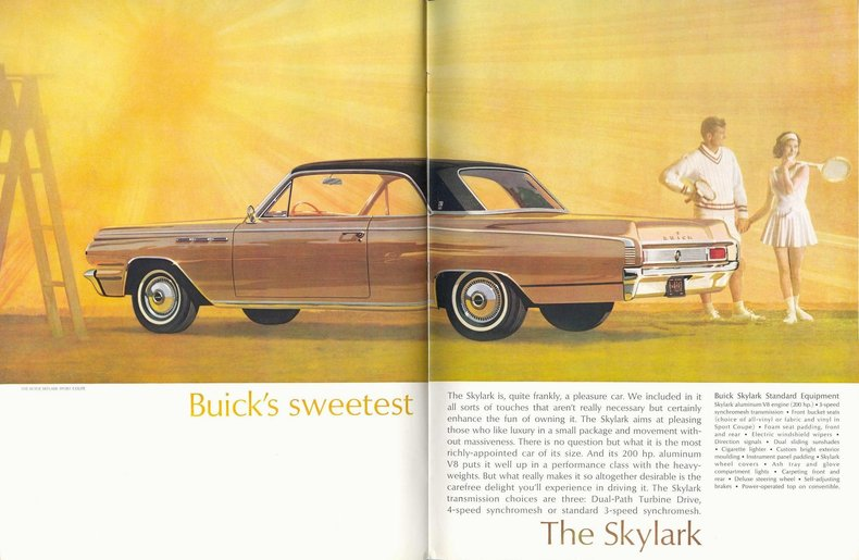 1963 Skylark Specs Colors Facts History And