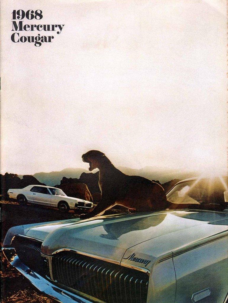1968 Mercury Cougar My Classic Garage Engine Diagram Oem Brochures 2588