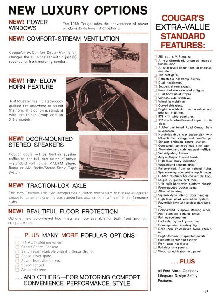2613 1969 mercury cougar booklet 13 low res