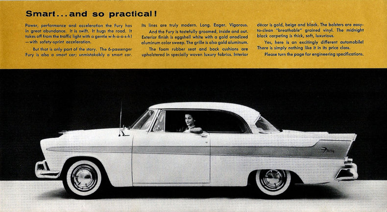 1956 Fury Specs Colors Facts History And Performance