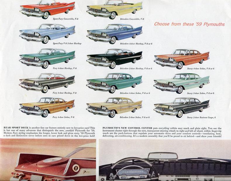 1959 Plymouth Fury My Classic Garage