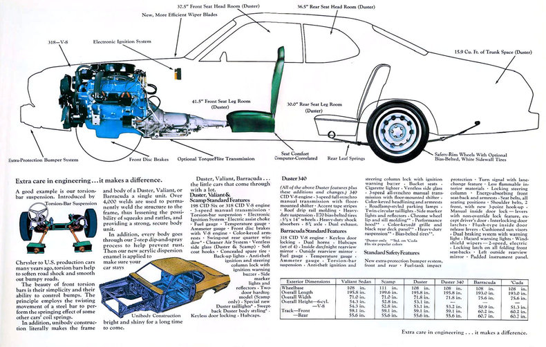 duster specs colors facts history and performance manufacturer original s brochures