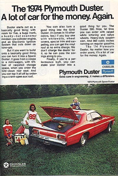 1974 Plymouth Duster   My Classic Garage