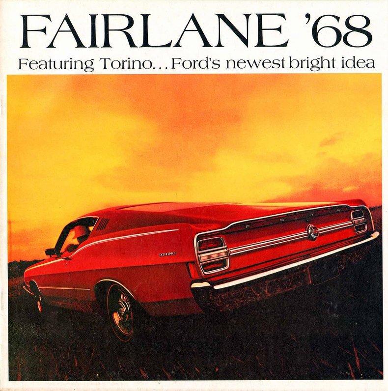 1968 Ford Fairlane   My Classic Garage