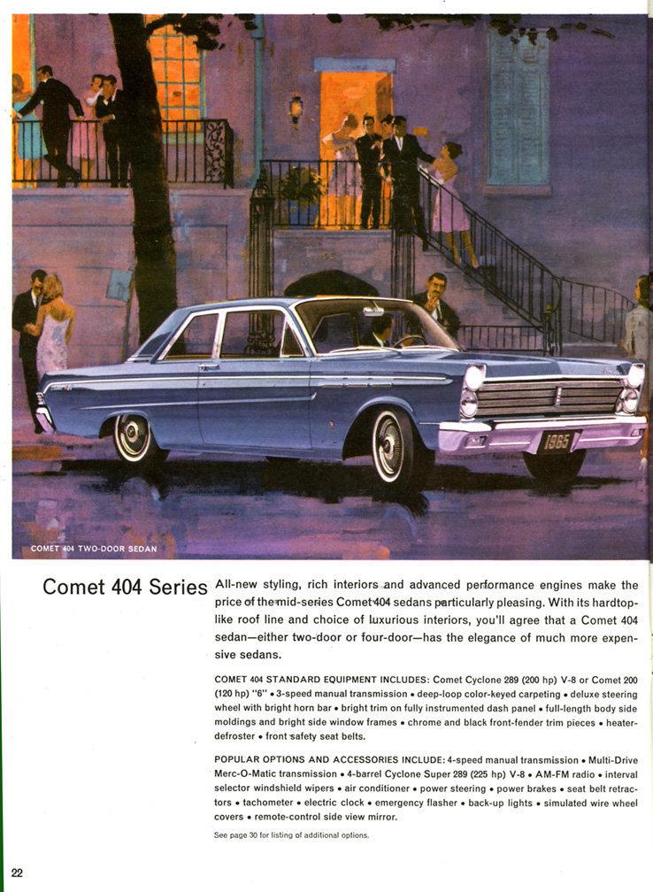 Custom Car Paint Colors >> 1965 Mercury Comet   My Classic Garage