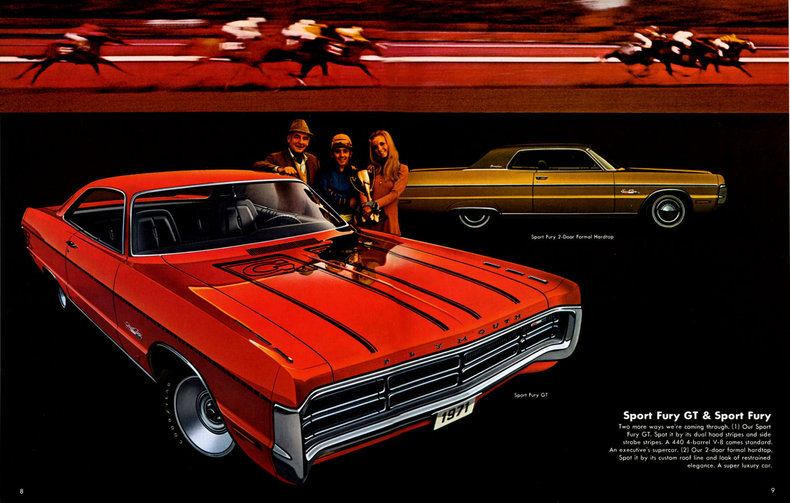 1971 Plymouth Fury My Classic Garage