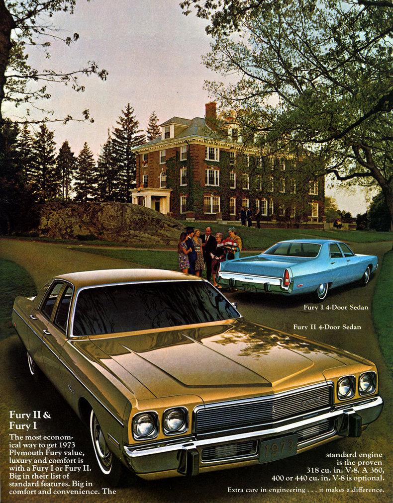 1973 Plymouth Fury   My Classic Garage