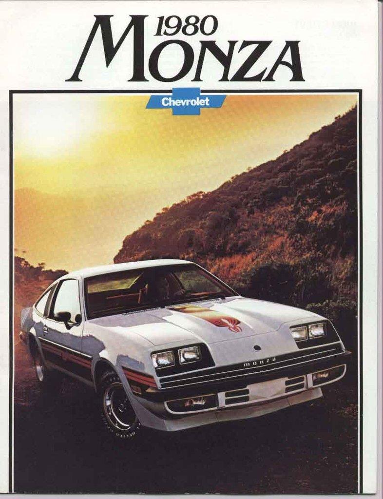 OEM Brochures. 3408 1980 chevrolet monza ...