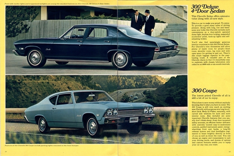 1968 Chevelle Specs Colors Facts History and Performance