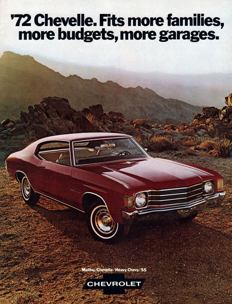 All Chevy 1972 chevy 402 engine specs : 1972 Chevelle Specs, Colors, Facts, History, and Performance ...