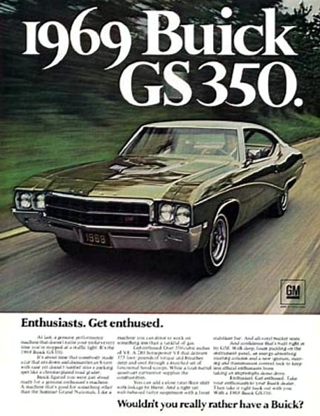 1969 Buick Gs 400 Stage 1 For Sale Autos Post