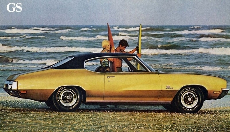 1971 buick gs my classic garage. Black Bedroom Furniture Sets. Home Design Ideas
