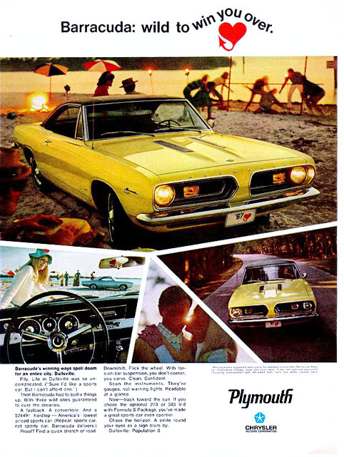 1967 Barracuda Specs Colors Facts History and Performance