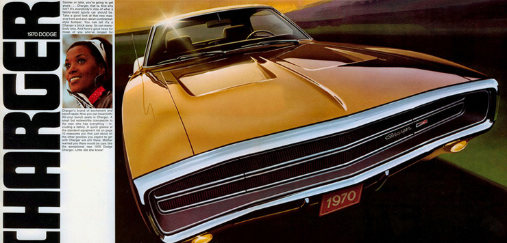 1968-1970 Dodge Charger